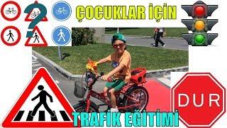 SADO YENİ BİSİKLETİNİ SÜRÜYOR !! Çocuklar için Bisikletli Trafik Eğitimi - Eğlenceli Çocuk Videosu