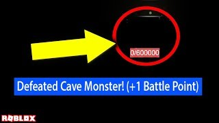 we killed the cave monster in bee swarm simulator, here's how... (roblox secrets)