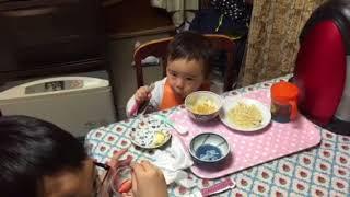 20180317アサヒの食事 thumbnail