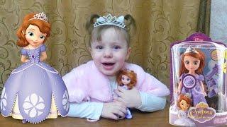 Принцесса София кукла Открываем игрушку Princess Sofia  doll toy Open