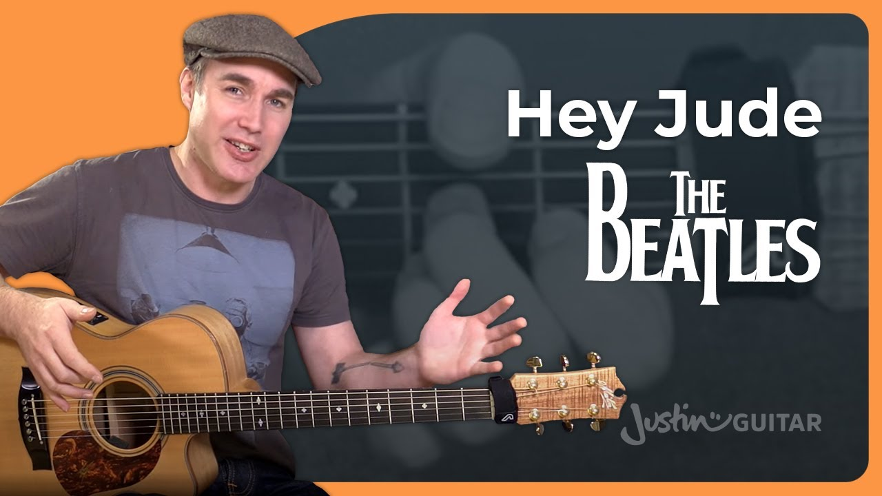 How To Play Hey Jude By The Beatles Easy Song Guitar Lesson