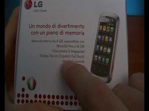Unboxing LG Surf 4gb by techonlino.com