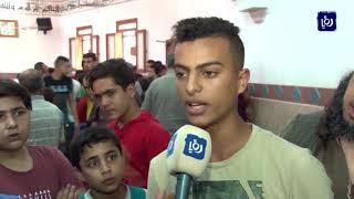 تشييع جثماني شهيدين ارتقيا برصاص الاحتلال في غزة - (7-9-2019)