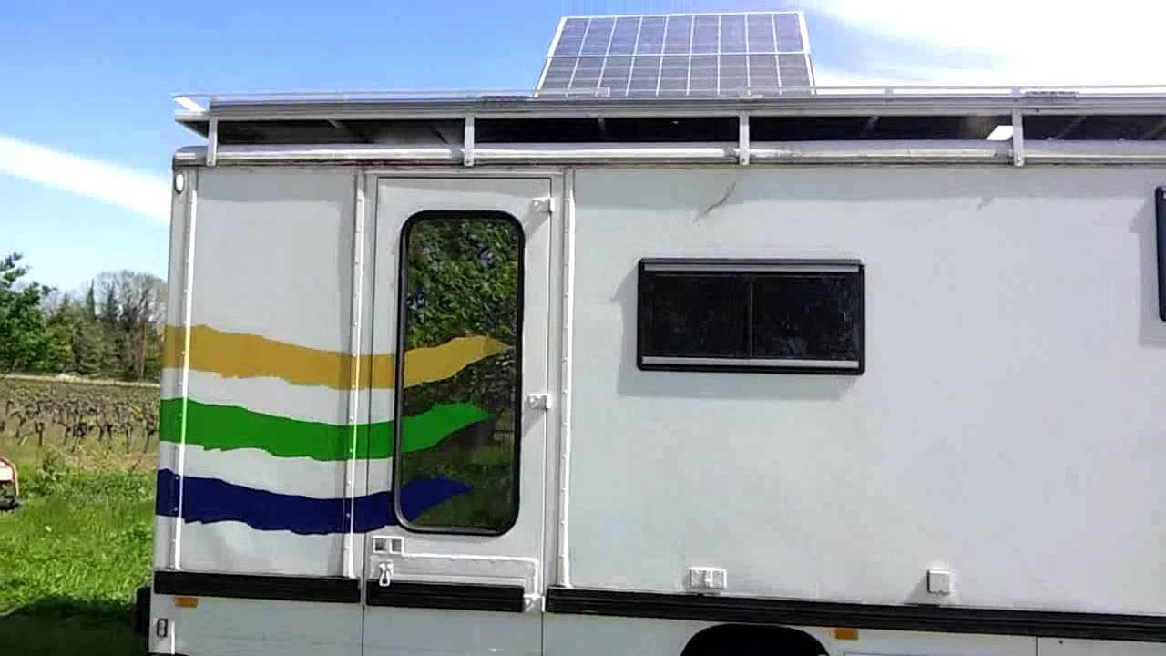 Camion pl aménagé camping car   youtube