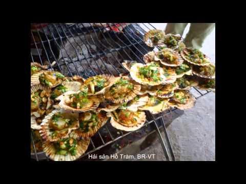 BBQ scallops- nghêu nướng mỡ hành