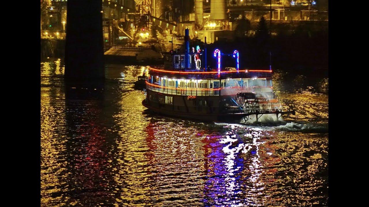 2013 christmas ships parade portland oregon youtube