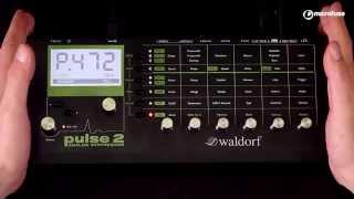 Presentación y Demo del sintetizador analógico Waldorf Pulse 2 en MicroFusa Barcelona