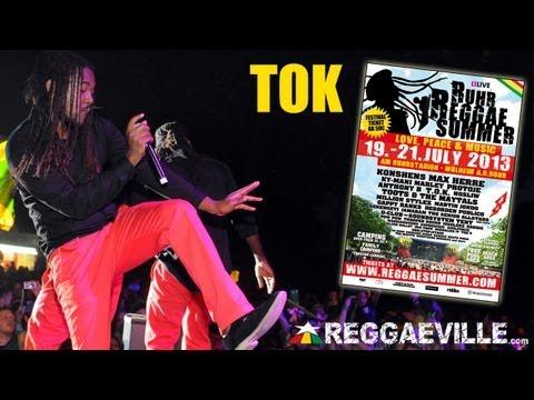 TOK - Shell It Down (Bumaye) @Ruhr Reggae Summer 7/19/2013