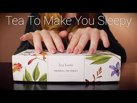 Tea To Make You Sleepy | ASMR | Tapping, Whisper, Crinkle