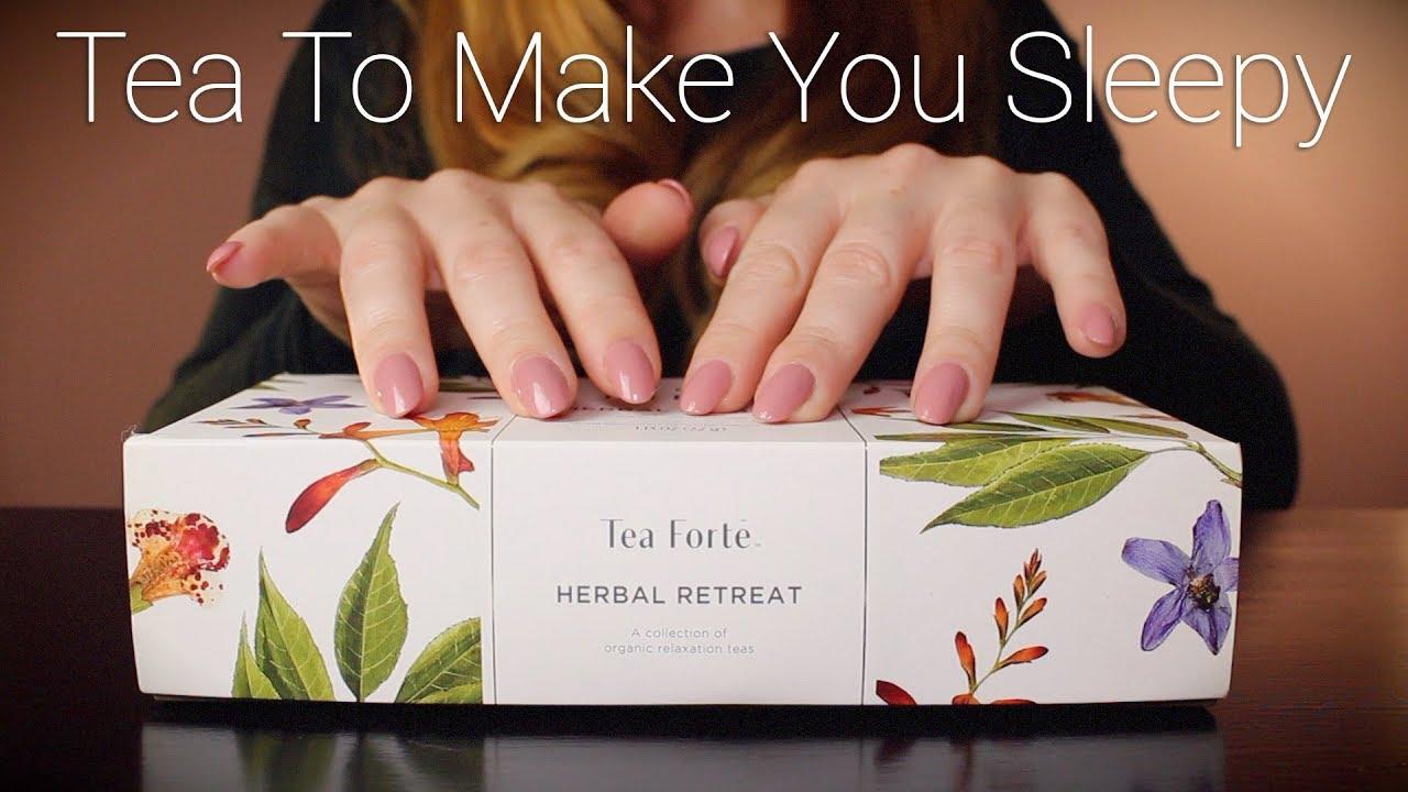 Tea To Make You Sleepy | ASMR | Tapping, Whisper, Crinkle