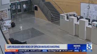 LAPD releases bodycam video of violent confrontation with man at police station