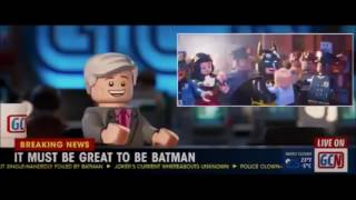 Lego Batman movie song:black and yellow