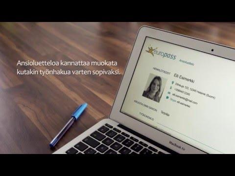 Europassin ansioluettelo: näin tehdään hyvä Europass-CV