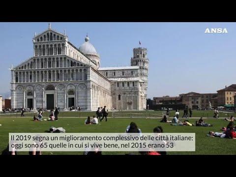 Ecco le citta' italiane in cui si vive meglio