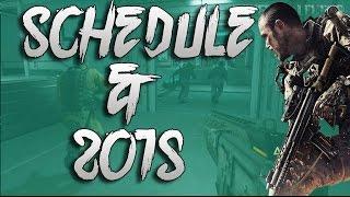 New Schedule & 2015 Plans! - Advance Warfare Gameplay