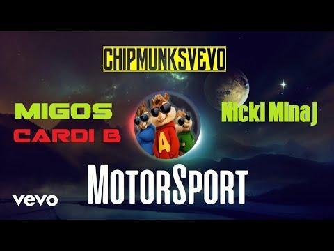 Migos Nicki Minaj Cardi B - MotorSport Chipmunks