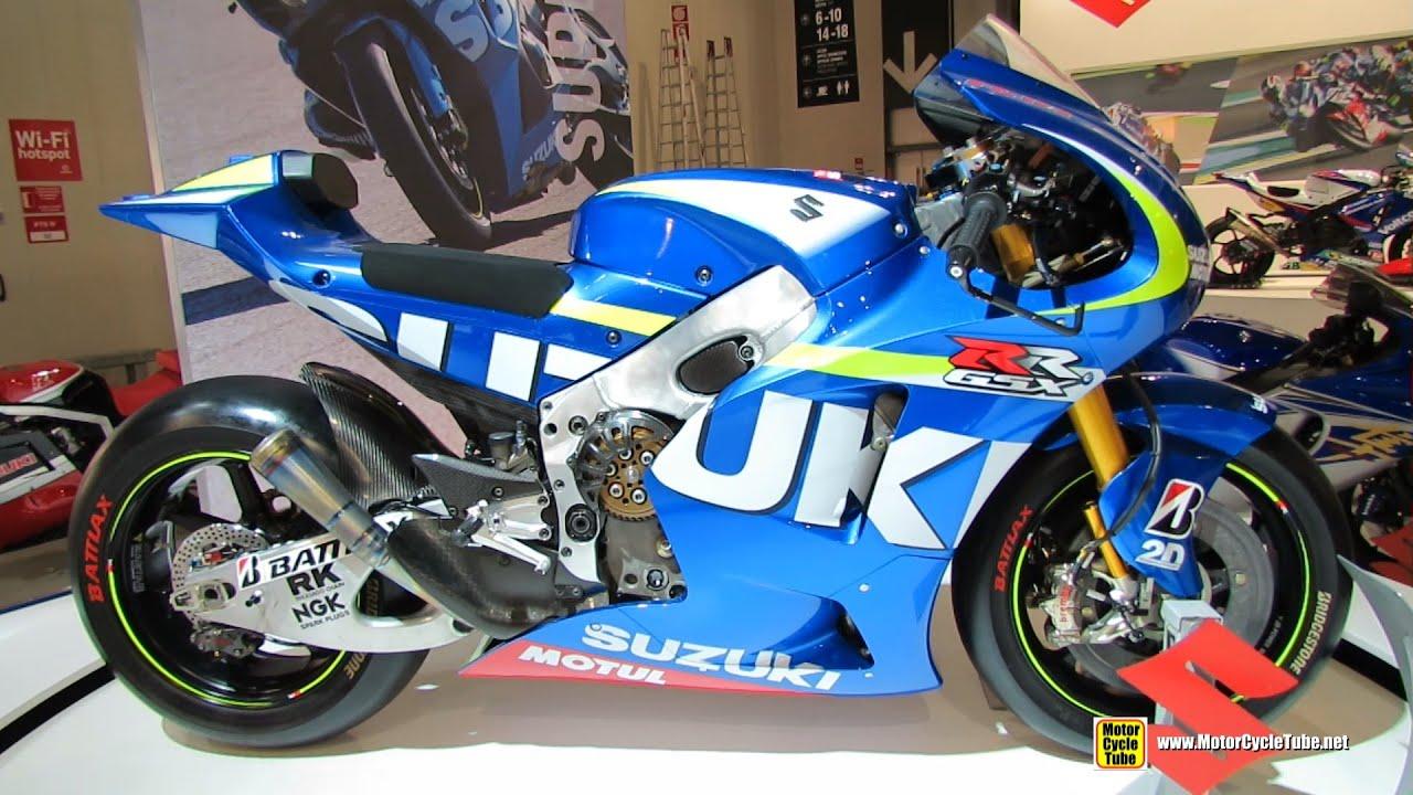 Superb Bon 2015 Suzuki GSX RR Walkaround 2014 EICMA Milan Motorcycle Exhibition  YouTube