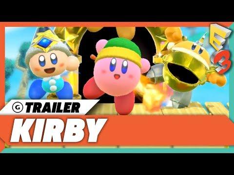 Kirby Nintendo Switch Announcement Trailer | E3 2017 Nintendo Spotlight