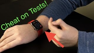 Cheat on Tests with Apple Watch