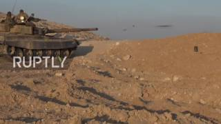 Syria: Syrian Arab Army continues its advance on IS-held Palmyra - reports