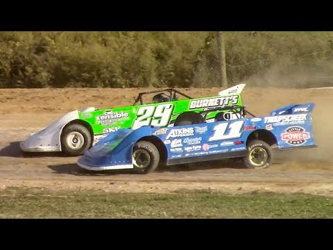 Topless RUSH Crate Late Model Heat Three | Genesee Speedway | 9-16-18
