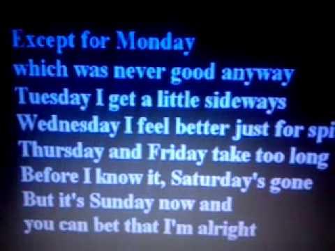 Except 4 Monday