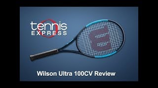 Wilson Ultra 100 Countervail Tennis Racquet Review | Tennis Express