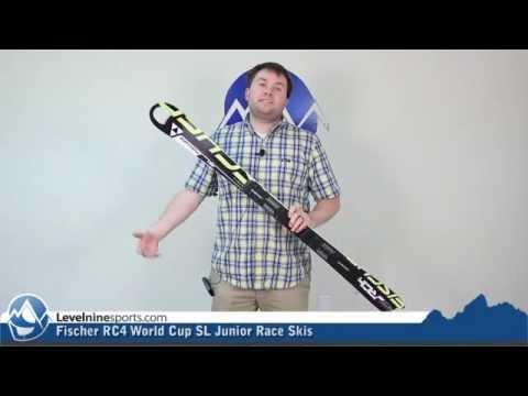 Fischer RC4 World Cup SL Junior Race Skis