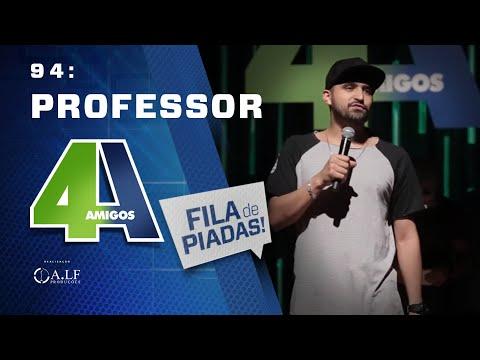 FILA DE PIADAS - PROFESSOR - #94 Participação Criss Paiva