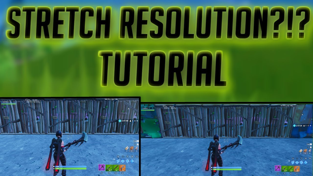 HOW TO FIX STRETCH RES IN FORTNITE AFTER PATCH 8.30! #1
