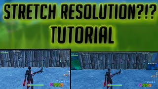 HOW TO FIX STRETCH RES IN FORTNITE AFTER PATCH 8.30!