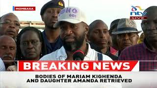 Joho: This is not first vehicle to plunge into the ocean at Likoni channel