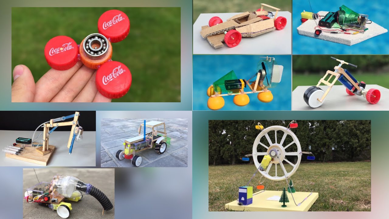 9 AMAZING DIY INVENTIONS Compilation and incredible ideas for Fun