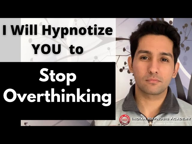 I Will Hypnotize YOU to Stop OVERTHINKING | Online Hypnosis by Tarun Malik (in Hindi)
