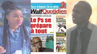 Petit Dej (18 mars 2019) - Revue de la presse nationale avec Abdoulaye BOB