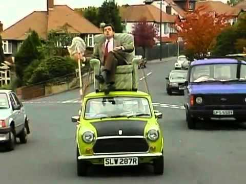 Mr bean video mr bean driving on roof of a car youtube mr bean video mr bean driving on roof of a car solutioingenieria Choice Image