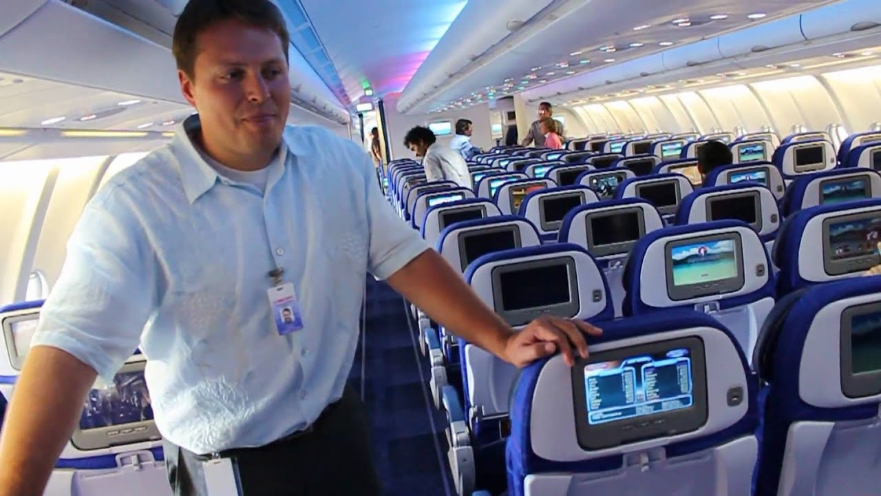 Hawaiian Airlines New Airbus A330 On Demand Entertainment