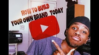 How to Build Your Own Brand | Online Jobs Work From Home