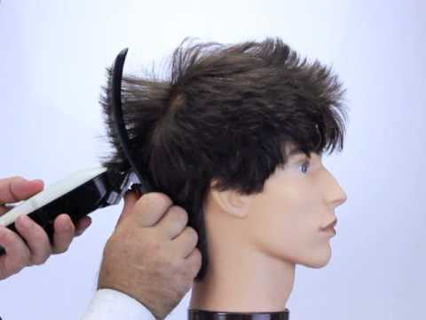 How To Cut Hair Into A Faux Hawk Style Using Freestyla