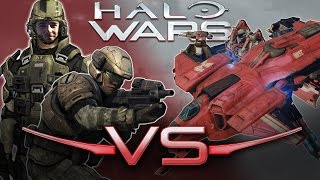 Marines Vs. Condor | Halo Wars 2 Unit Battle