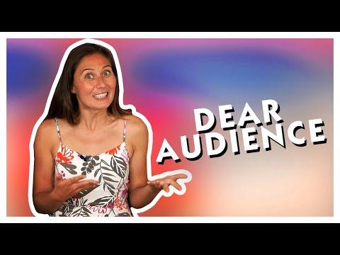 Dear Audience