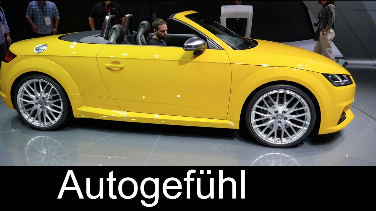 2015 2016 Audi Tts Roadster Tour All New Audi Tt Cabriolet