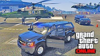 GTA 5 LSPDFR Online - President Escort Mod Game - Air Force One, Marine One, Motorcade Mission(Join all my Subscribers in our Doctorgta Youtube Commentary Gameplay of the LSPDFR Presidential Escort Game Mission Online with Mods such as the ..., 2016-09-09T14:47:58.000Z)