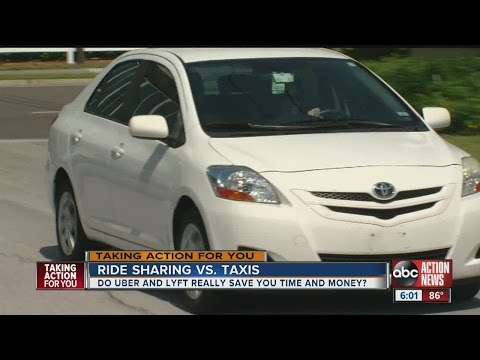 Ride Sharing vs Taxis