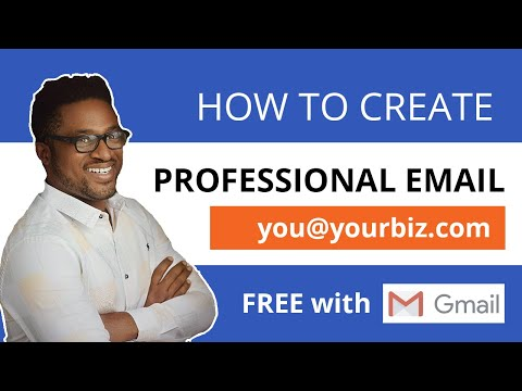 How to Create Business Email for FREE & Send + Receive with GMail