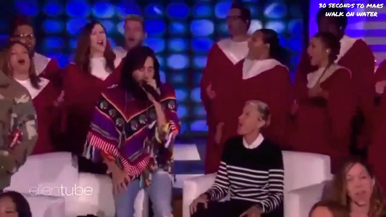30 Seconds To Mars - The Ellen Show - (Walk On Water ...