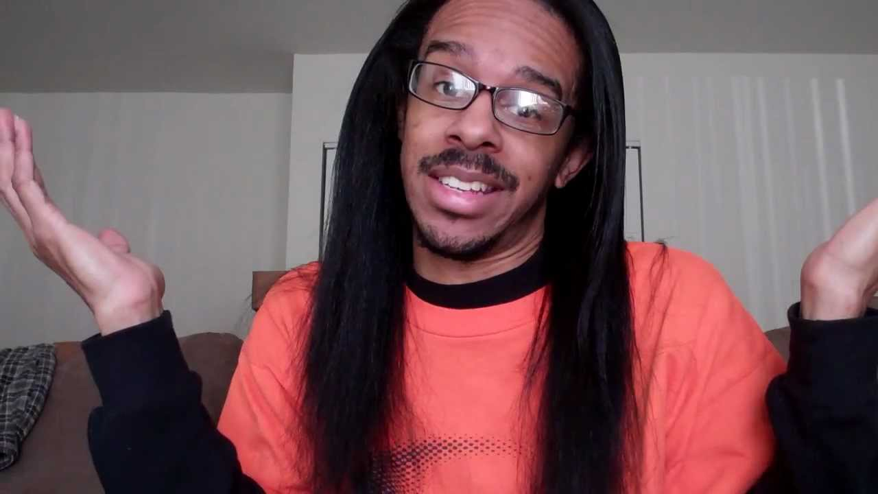 Black men natural hair(long hair don't...well, I care a ...