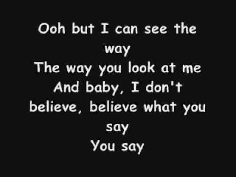 Elliott Yamin You Say Lyrics