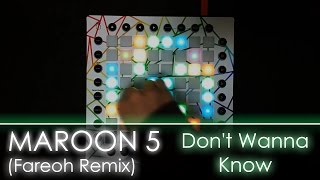 Download Maroon 5 - Don't Wanna Know (Fareoh Remix) | Launchpad Cover + Project File Mp3