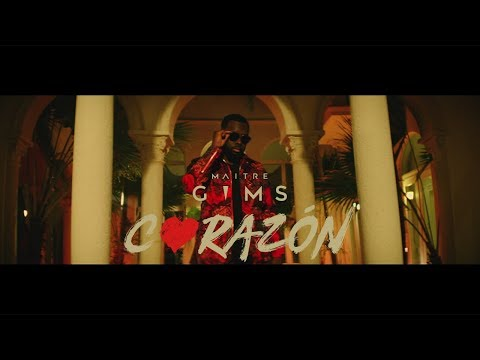 Maître GIMS - Corazon ft. Lil Wayne & French Montana (Vidio)2018